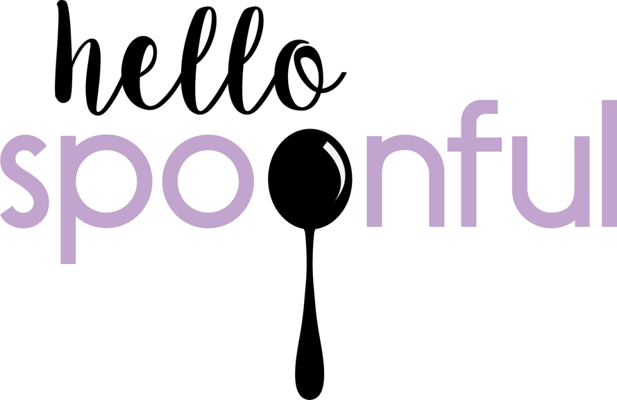 Hello spoonful logo cursive