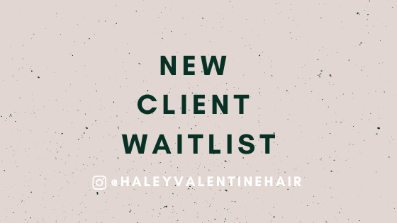 New client waitlist